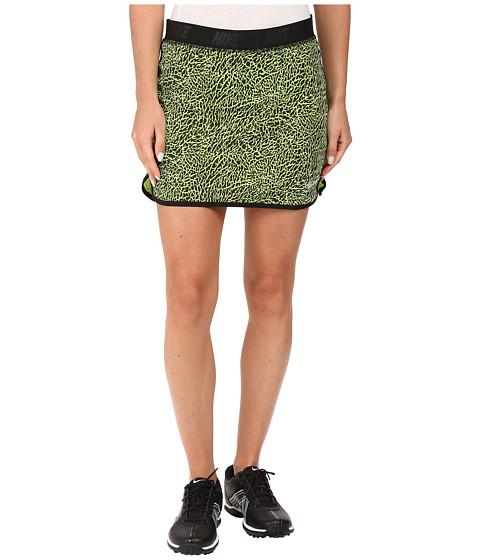 Imbracaminte Femei Nike Golf Flip Skort Print VoltBlackMetallic Silver