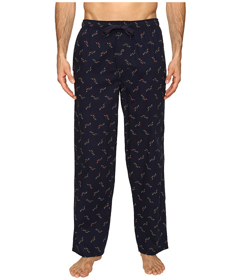 Imbracaminte Barbati Tommy Bahama Island Washed Cotton Woven Pants Tossed Multi Marlin Navy