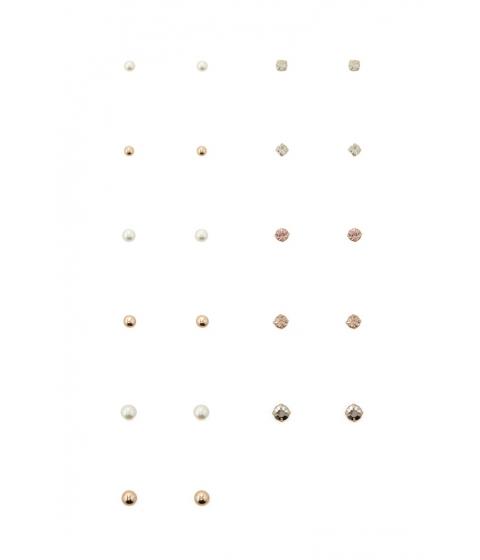 Bijuterii Femei Forever21 Faux Pearl Stud Earring Set Goldcream