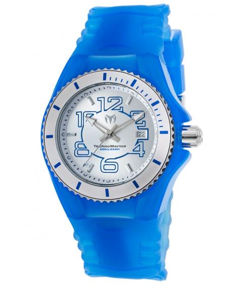 Ceasuri Femei Technomarine Cruise Jellyfish Blue Silicone SS and Blue Silicone - TECHNO-TM-115125 Silver-ToneBlue