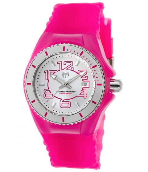 Ceasuri Femei Technomarine Cruise Jellyfish Pink Silicone SS and Pink Silicone - TECHNO-TM-115127 Silver-TonePink