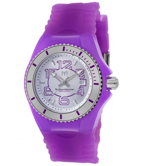 Ceasuri Femei Technomarine Cruise Jellyfish Purple Silicone SS and Purple Silicone - TECHNO-TM-115128 Silver-TonePurple