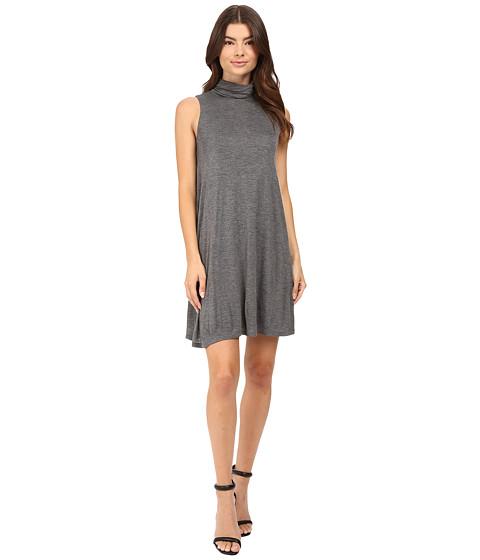 Imbracaminte Femei kensie Sheer Viscose Tee Dress KS8K7271 Heather Ash