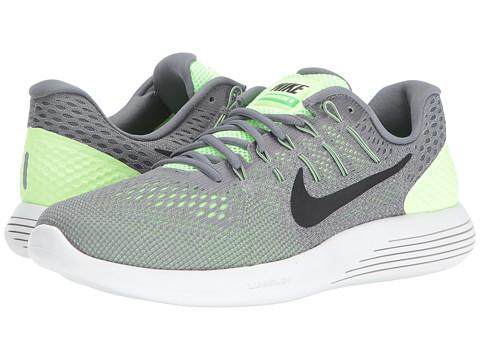 Incaltaminte Barbati Nike Lunarglide 8 Ghost GreenCool GreyPure PlatinumBlack