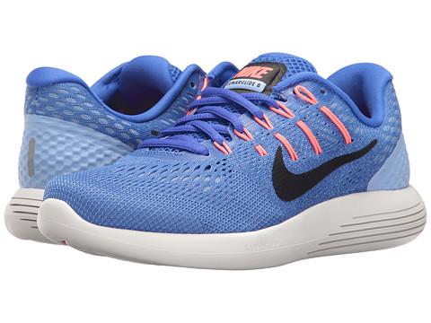 Incaltaminte Femei Nike Lunarglide 8 Medium BlueBlackAluminumHot Punch