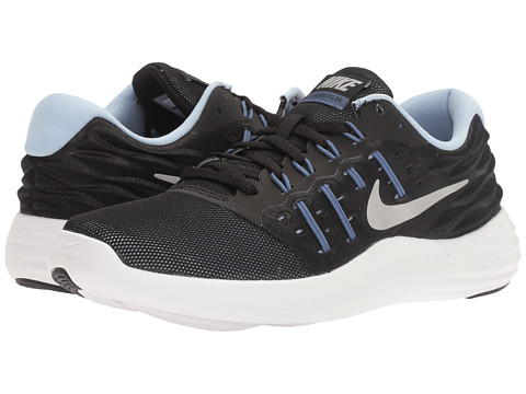 Incaltaminte Femei Nike Lunarstelos BlackMetallic SilverBlue MoonAluminum