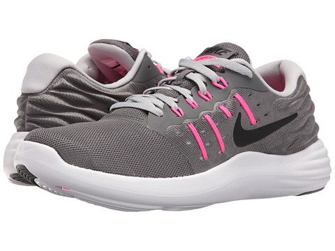 Incaltaminte Femei Nike Lunarstelos Dark GreyWolf GreyPink BlastBlack