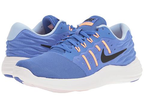 Incaltaminte Femei Nike Lunarstelos Medium BlueBlackSunset GlowAluminum