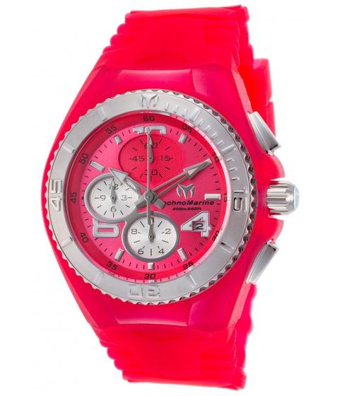 Ceasuri Femei Technomarine Cruise JellyFish Chronograph Pink Silicone and Dial - TECHNO-TM-115107 PinkPink