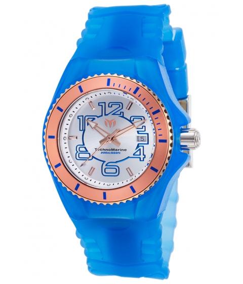 Ceasuri Femei Technomarine Cruise Jellyfish Blue Silicone Silver-Tone Dial - TECHNO-TM-115135 Silver-ToneBlue