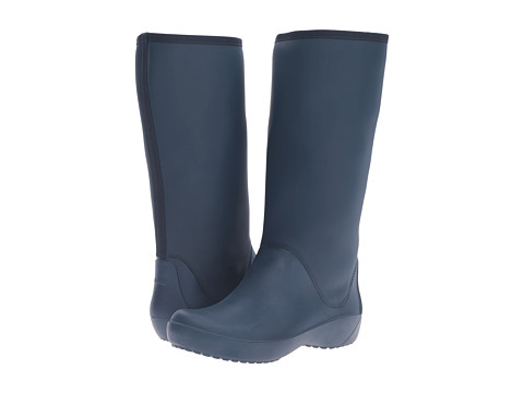Incaltaminte Femei Crocs RainFloe Tall Boot Navy