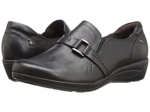Incaltaminte Femei Hush Puppies Charming Oleena Black Leather