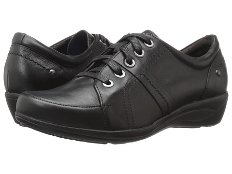Incaltaminte Femei Hush Puppies Champion Oleena Black Leather