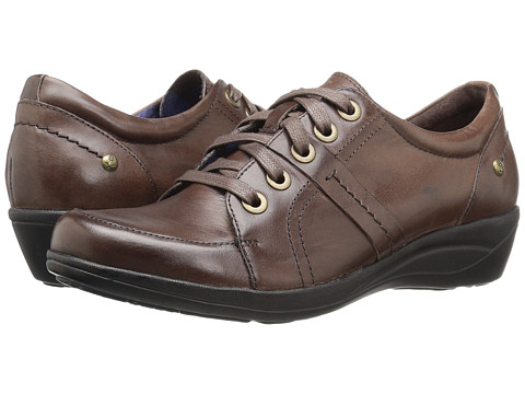 Incaltaminte Femei Hush Puppies Champion Oleena Dark Brown Leather