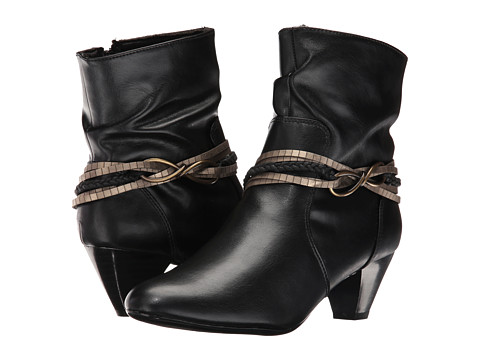 Incaltaminte Femei Soft Style Gayla Black Vitello