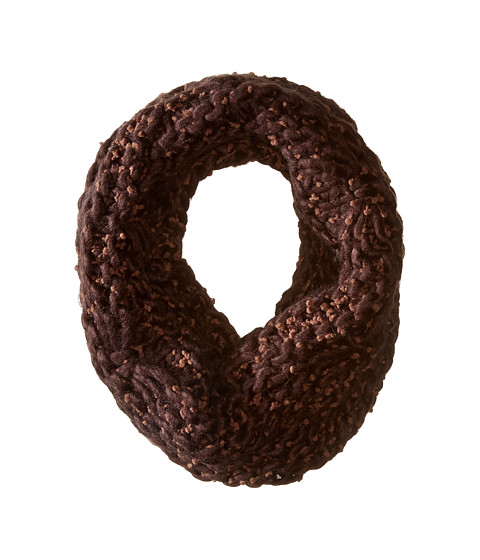 Accesorii Femei San Diego Hat Company BSS1681 Chunky Yarn Crochet Knit Scarf Brown