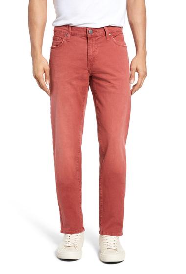 Imbracaminte Barbati J Brand Tyler Slim Fit Jeans THRASHED DIMMET
