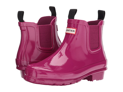 Incaltaminte Fete Hunter Chelsea Gloss Rain Boots (Little KidBig Kid) Dark Ion Pink