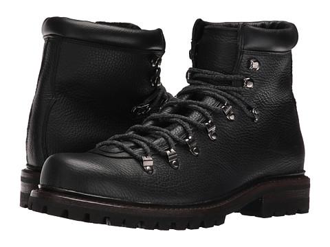 Incaltaminte Barbati Frye Wyoming Hiker Black WP Waxed Pebbled LeatherSoft Vintage Leather