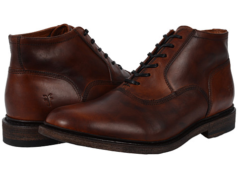 Incaltaminte Barbati Frye James Bal Chukka Leather Cognac Smooth Vintage Leather