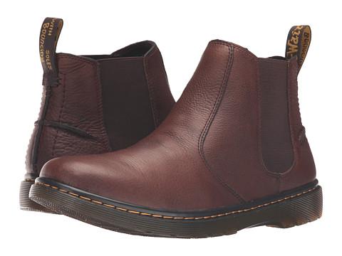 Incaltaminte Barbati Dr Martens Lyme Chelsea Boot Dark Brown Grizzly