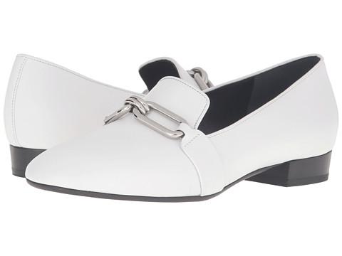 Incaltaminte Femei Michael Kors Lennox Loafer Optic White Smooth Calf