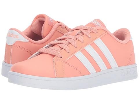 Incaltaminte Fete adidas Kids Baseline (Little KidBig Kid) Trace PinkWhite