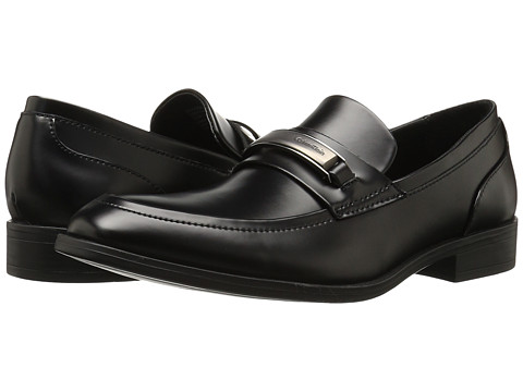 Incaltaminte Barbati Calvin Klein Douggie Black Box Leather