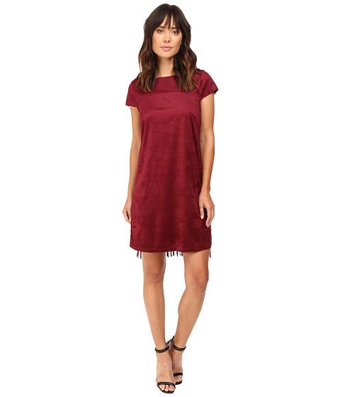 Imbracaminte Femei kensie Drapey Faux Suede Dress KS9K7131 Wine