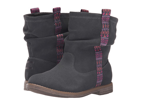 Incaltaminte Fete TOMS Laurel Boot (Little KidBig Kid) Castlerock Grey Suede
