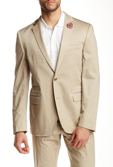 Imbracaminte Barbati 14th Union Two Button Cotton Stretch Sport Coat KHAKI