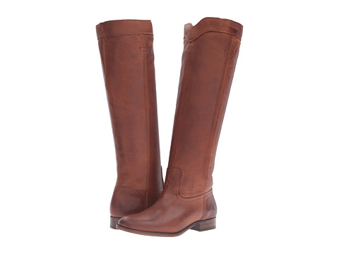 Incaltaminte Femei Frye Cara Roper Tall Cognac Soft Pebbled Full Grain
