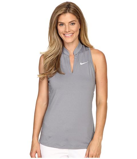 Imbracaminte Femei Nike Golf Ace Swing Knit Racerback Wolf GreyBlackReflective Silver