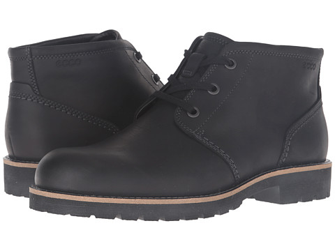 Incaltaminte Barbati ECCO Jamestown Mid Black