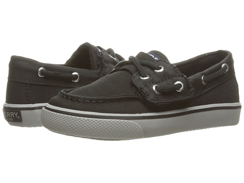 Incaltaminte Baieti Sperry Top-Sider Bahama Jr (ToddlerLittle Kid) Black Nylon