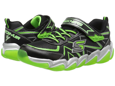Incaltaminte Baieti SKECHERS Skech Air 30 97411L (Little KidBig Kid) BlackLime