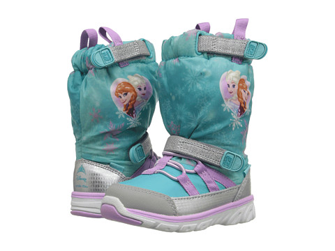 Incaltaminte Fete Stride Rite Frozen Made 2 Play Sneaker Boot (Toddler) Turquoise Multi