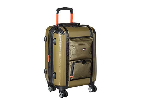 Accesorii Femei Tommy Hilfiger Harbor Hybrid 20quot Upright Suitcase Olive