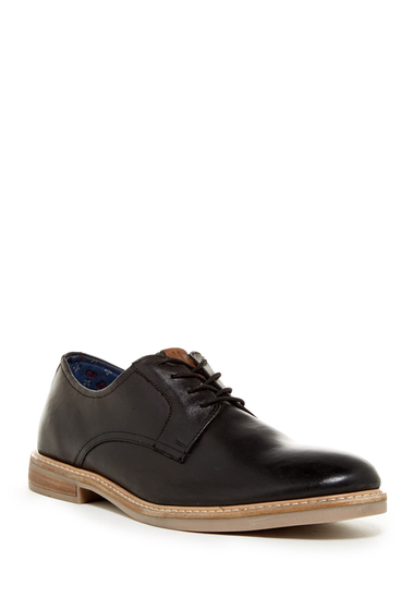 Incaltaminte Barbati Ben Sherman Brent Plain Toe Derby BLACK