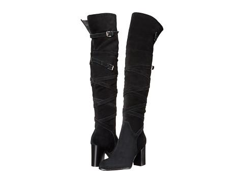 Incaltaminte Femei Sam Edelman Sable Black Velour Suede Leather