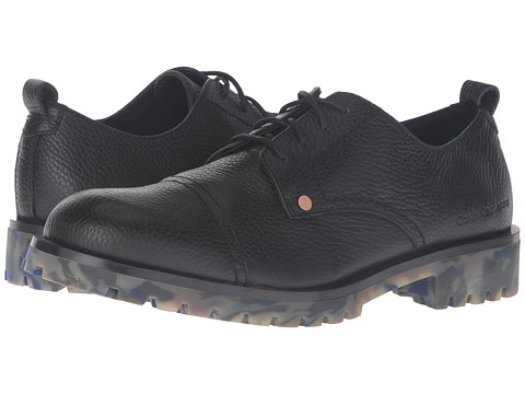 Incaltaminte Barbati Calvin Klein Nox Black Thicker Grainy Leather