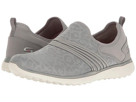 Incaltaminte Femei SKECHERS Microburst - Under Wraps Gray