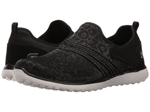 Incaltaminte Femei SKECHERS Microburst - Under Wraps Black 1