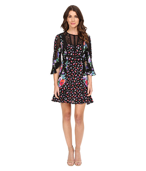 Imbracaminte Femei Nanette Lepore Wildflower Dress Black Multi