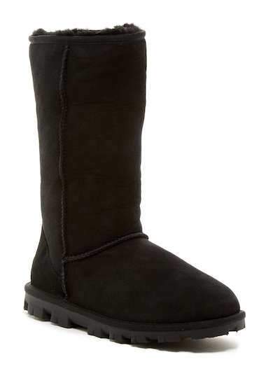 Incaltaminte Femei UGG Essential Tall Genuine Shearling Lined Boot BLK