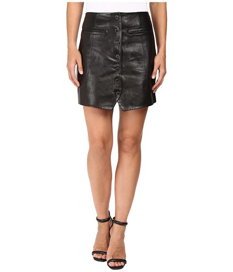 Imbracaminte Femei Rachel Zoe Ciara Leather Skirt Black