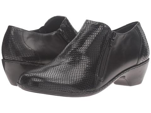 Incaltaminte Femei Walking Cradles Cadence Black LeatherBlack Patent Snake Print
