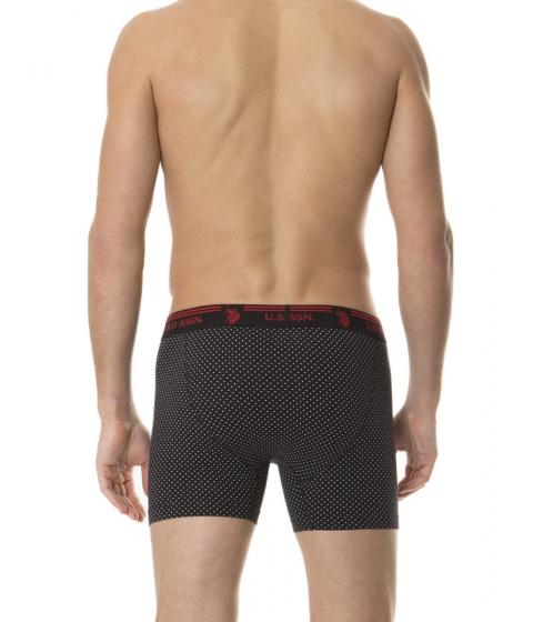 Imbracaminte Barbati US Polo Assn Boxer Brief Black