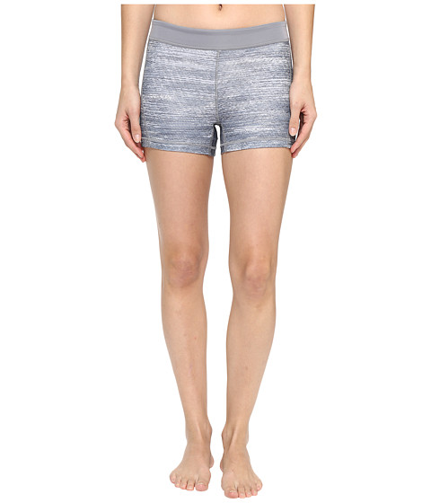 Imbracaminte Femei adidas Techfit 3quot Macro Heather Short Tights GreyPrintMatte Silver