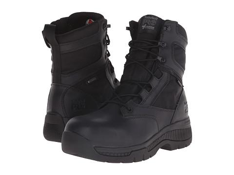 Incaltaminte Barbati Timberland 8quot Valor Duty Composite Toe Waterproof FP Black